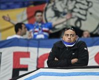 Sampdoria fans Stock Photography