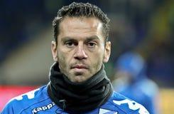 sampdoria игроков genoa вверх грея стоковые изображения rf
