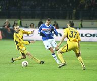 Sampdoria Genoa MF Stefano Guberti Stock Photography