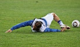 Sampdoria Genoa players warming-up Royalty Free Stock Photos