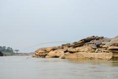 Samphanboke, μεγάλο φαράγγι της Ταϊλάνδης Στοκ Φωτογραφίες