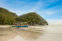 Samphraya-Strand in Thailand Stockfoto