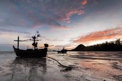 Samphraya-Strand in Thailand Lizenzfreies Stockbild