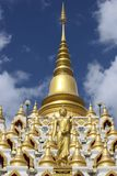 Samphutthe chedi near Wat Mani Phraison, Mae Sot, Tak, Thailand. Stock Photo