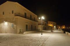 Sampieri village, Sicily, Italy Stock Photo