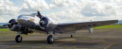 Sample aircraft airshow. Stock Images