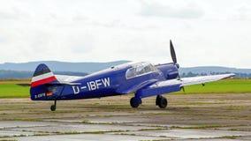 Sample aircraft airshow. Royalty Free Stock Images