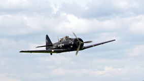Sample aircraft airshow. Stock Images