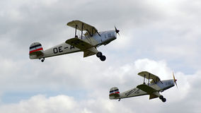 Sample aircraft airshow. Stock Image