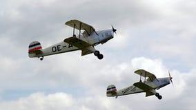 Sample aircraft airshow. Stock Image