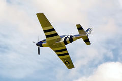 Sample aircraft airshow. royalty free stock image