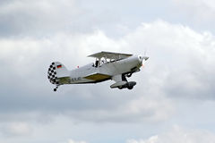 Sample aircraft airshow. Royalty Free Stock Images