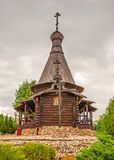 sample of ancient Russian architecture stock photography