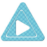 The sample of a background with triangles Stock Photography