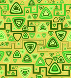 The sample of a background with triangles. Vector illustration Stock Image