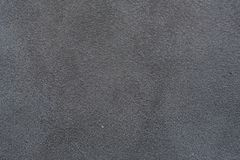 A sample of black leather cloth for sewing Stock Images