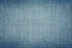 Sample of blue denim Stock Images