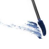 Sample blue mascara Royalty Free Stock Photography