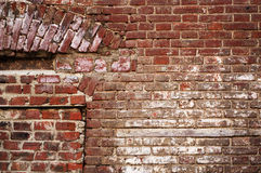 a sample of the brickwork surface Stock Images
