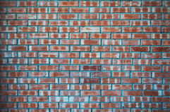 a sample of the brickwork surface Stock Image