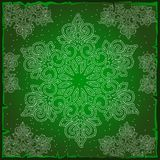 Sample Christmas colorful wrapping paper. The texture of the snowflakes. Sketch for greeting card, festive poster or. Party invitations.The attributes of Royalty Free Stock Photography