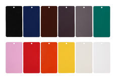Sample color rack Royalty Free Stock Photo