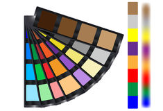 Sample colors Stock Image
