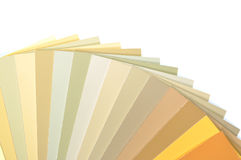 Sample colors catalog Stock Images