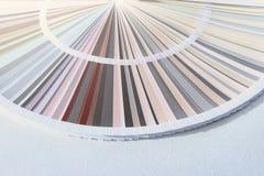 Sample Colors Catalog, Color wheel choosing paint tone. Colors stock photo