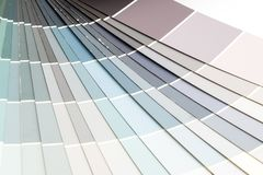 Sample colors catalogue pantone. Or colour swatches book stock images
