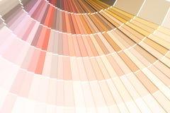 sample colors catalogue pantone royalty free stock photography