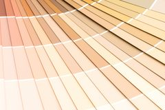Sample colors catalogue pantone. Or colour swatches book stock photography