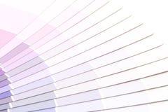 Sample colors catalogue pantone. Or colour swatches book stock photos