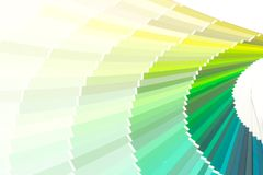 Sample colors catalogue pantone. Or colour swatches book royalty free stock photography
