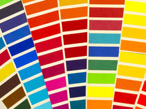 Sample colors spectrum Royalty Free Stock Images