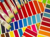 Sample colors spectrum Royalty Free Stock Photo