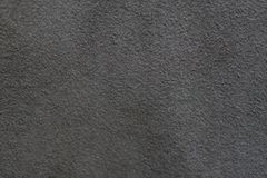 A sample of dark leather cloth for sewing Royalty Free Stock Image