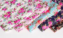 Sample fabric Stock Photography