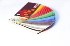 Sample Foil Stock Image