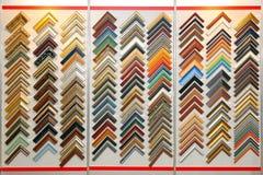 Sample frame corners Stock Photos
