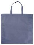 Sample gray non-woven bag Royalty Free Stock Photography