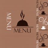 Sample menu Royalty Free Stock Images