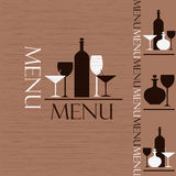 Sample menu Royalty Free Stock Photography