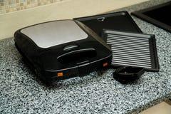 Electronic Waffle maker. Sample model for Kitchen appliance. Sample model for Kitchen appliance royalty free stock image