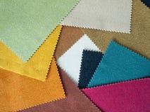 Sample multi-colored cotton Stock Image