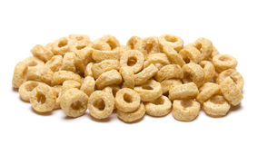 Sample of O Shaped Cereal Stock Photo