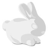 Sample rabbit logo Royalty Free Stock Images