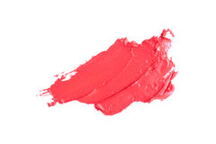 A sample of red makeup. Royalty Free Stock Photos