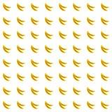 Sample seamless bananas background. Stock Photo
