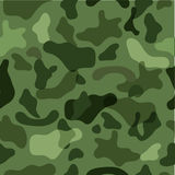 Sample seamless camouflage in the colors of the. Forest for your design Stock Photos